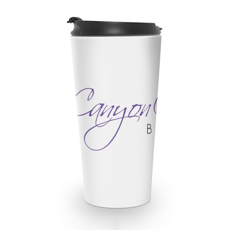 CCB Main Logo Accessories Travel Mug by Canyon Concert Ballet's Artist Shop