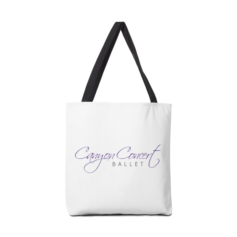 CCB Main Logo Accessories Tote Bag Bag by Canyon Concert Ballet's Artist Shop
