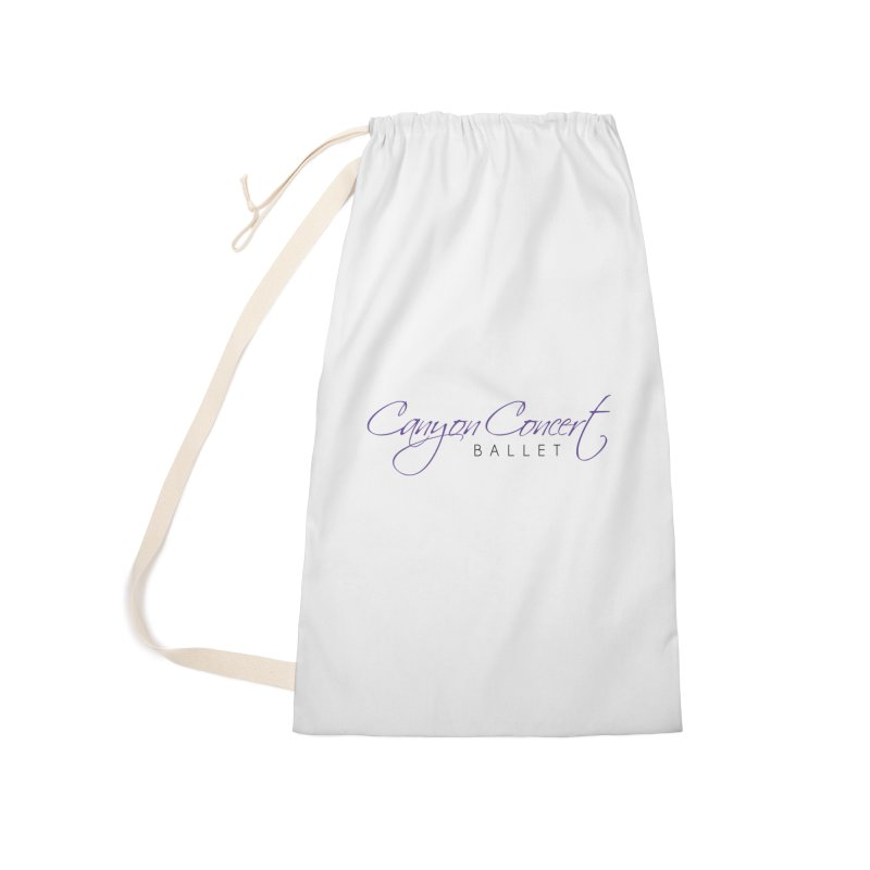 CCB Main Logo Accessories Laundry Bag Bag by Canyon Concert Ballet's Artist Shop