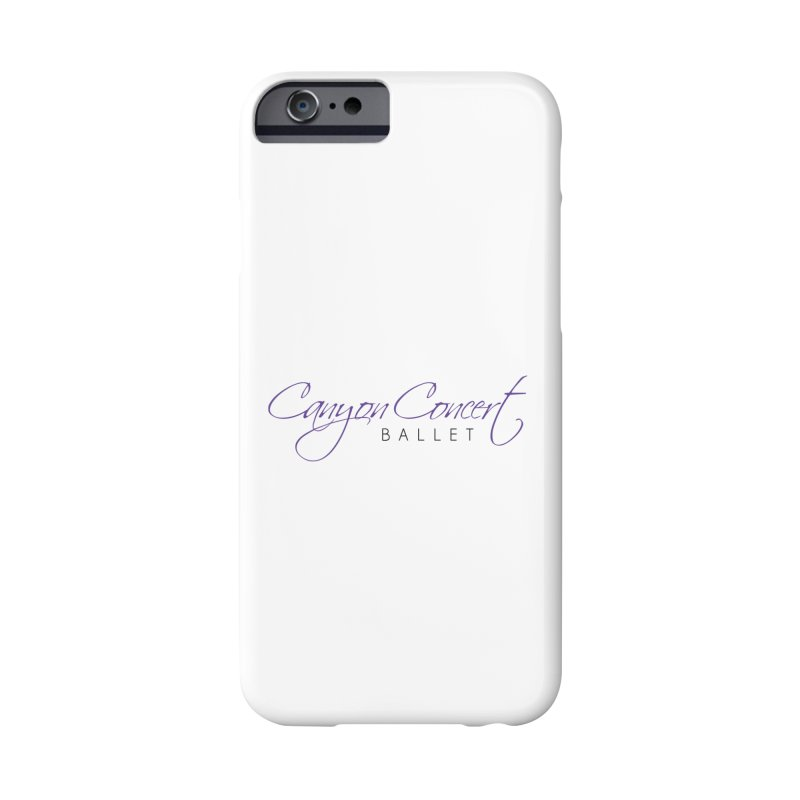 CCB Main Logo Accessories Phone Case by Canyon Concert Ballet's Artist Shop