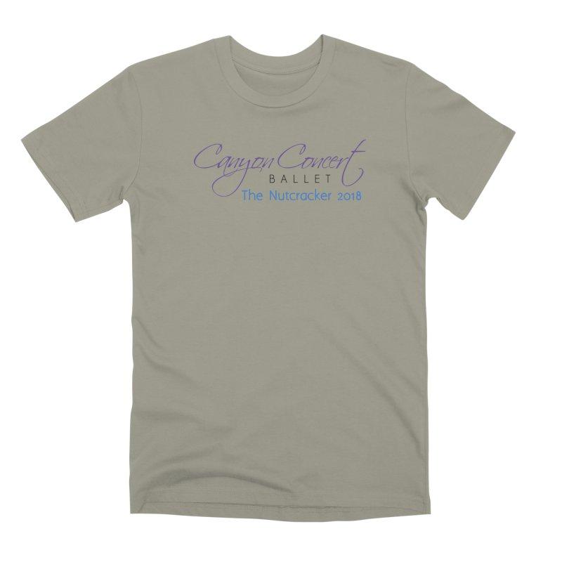 2018 The Nutcracker Men's Premium T-Shirt by Canyon Concert Ballet's Artist Shop