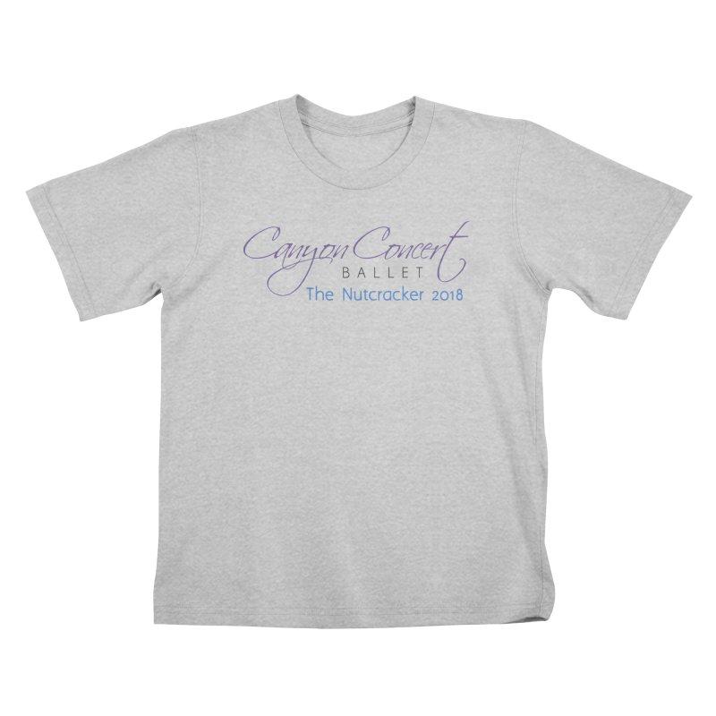 2018 The Nutcracker Kids T-Shirt by Canyon Concert Ballet's Artist Shop