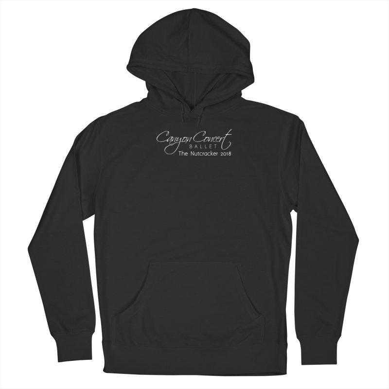Nutcracker 2018 - White Logo Men's Pullover Hoody by Canyon Concert Ballet's Artist Shop