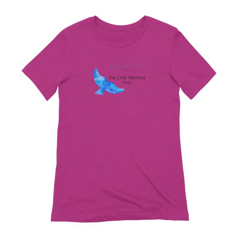 The Little Mermaid Women's Extra Soft T-Shirt by Canyon Concert Ballet's Artist Shop