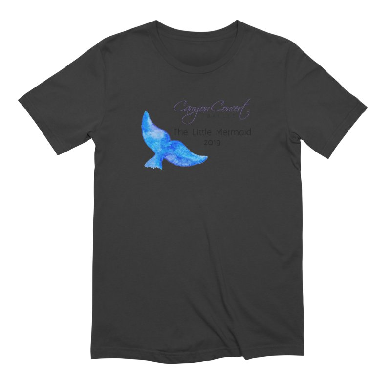 The Little Mermaid Men's Extra Soft T-Shirt by Canyon Concert Ballet's Artist Shop