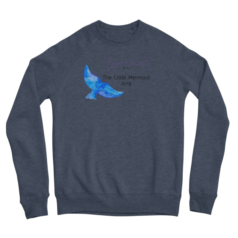 The Little Mermaid Men's Sponge Fleece Sweatshirt by Canyon Concert Ballet's Artist Shop