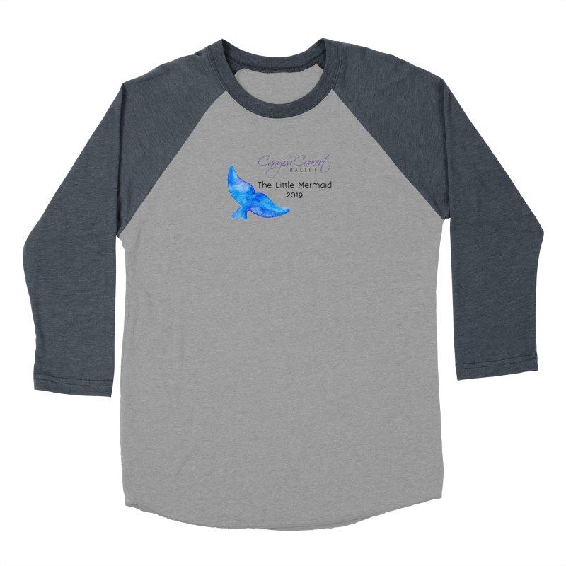 The Little Mermaid Men's Baseball Triblend Longsleeve T-Shirt by Canyon Concert Ballet's Artist Shop