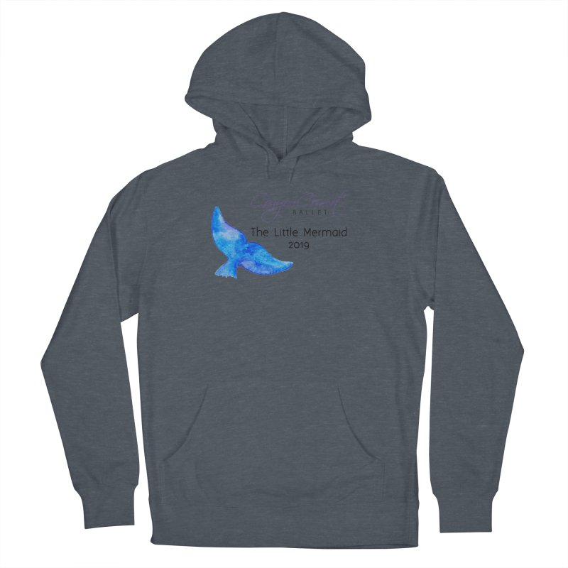 The Little Mermaid Women's French Terry Pullover Hoody by Canyon Concert Ballet's Artist Shop