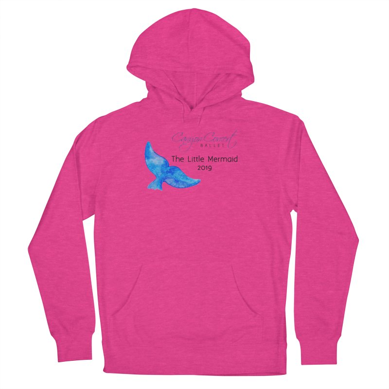 The Little Mermaid Men's French Terry Pullover Hoody by Canyon Concert Ballet's Artist Shop