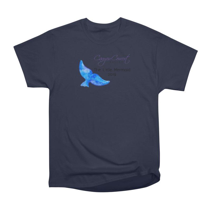 The Little Mermaid Women's Heavyweight Unisex T-Shirt by Canyon Concert Ballet's Artist Shop