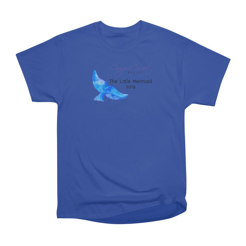 The Little Mermaid Men's Heavyweight T-Shirt by Canyon Concert Ballet's Artist Shop