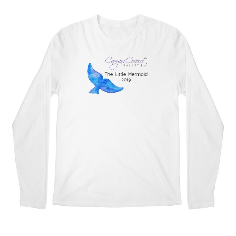 The Little Mermaid Men's Regular Longsleeve T-Shirt by Canyon Concert Ballet's Artist Shop