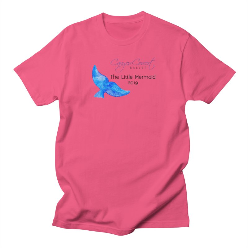 The Little Mermaid Men's Regular T-Shirt by Canyon Concert Ballet's Artist Shop