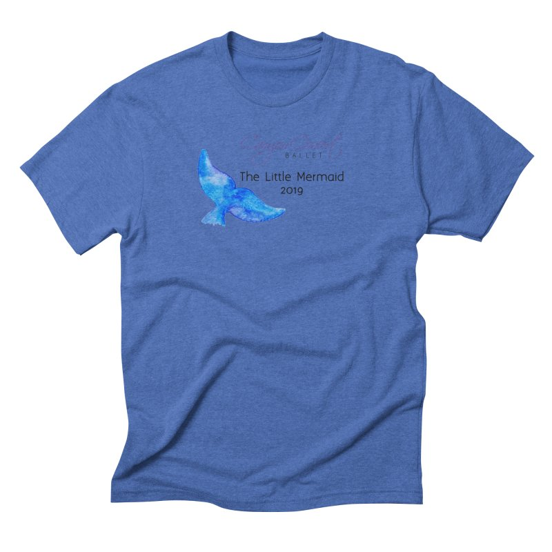 The Little Mermaid Men's Triblend T-Shirt by Canyon Concert Ballet's Artist Shop