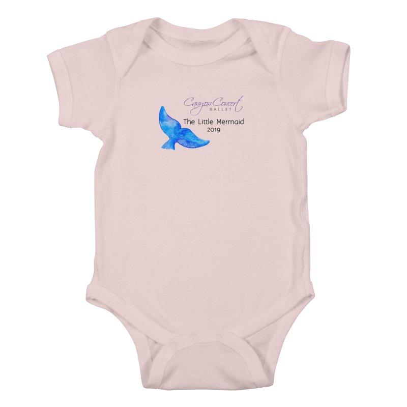 The Little Mermaid Kids Baby Bodysuit by Canyon Concert Ballet's Artist Shop