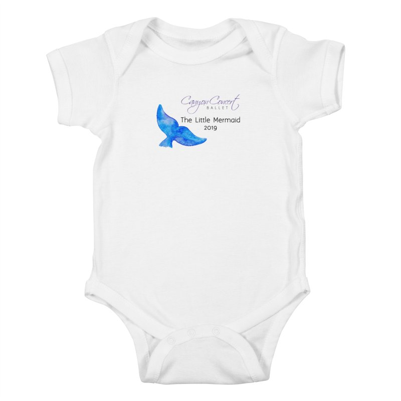 The Little Mermaid Kids Baby Bodysuit by Canyon Concert Ballet's Artist Shop
