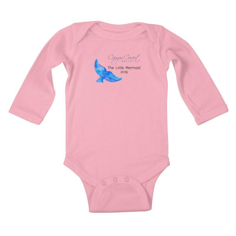 The Little Mermaid Kids Baby Longsleeve Bodysuit by Canyon Concert Ballet's Artist Shop