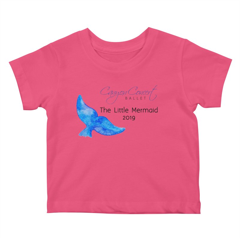 The Little Mermaid Kids Baby T-Shirt by Canyon Concert Ballet's Artist Shop