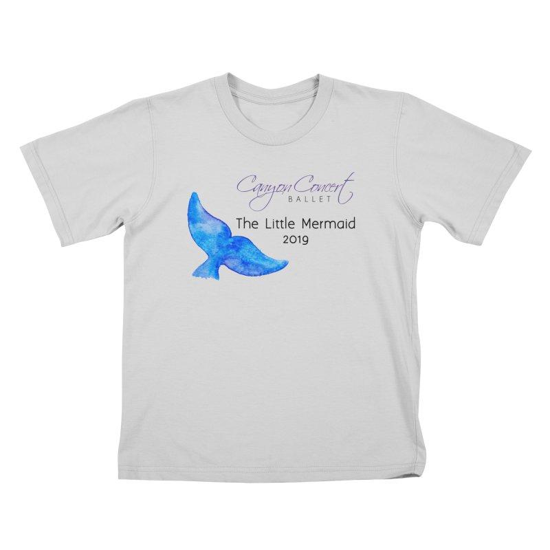 The Little Mermaid Kids T-Shirt by Canyon Concert Ballet's Artist Shop