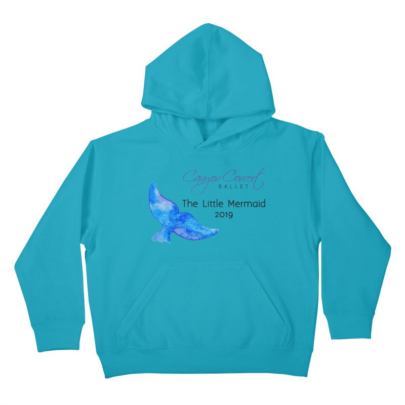 The Little Mermaid Kids Pullover Hoody by Canyon Concert Ballet's Artist Shop