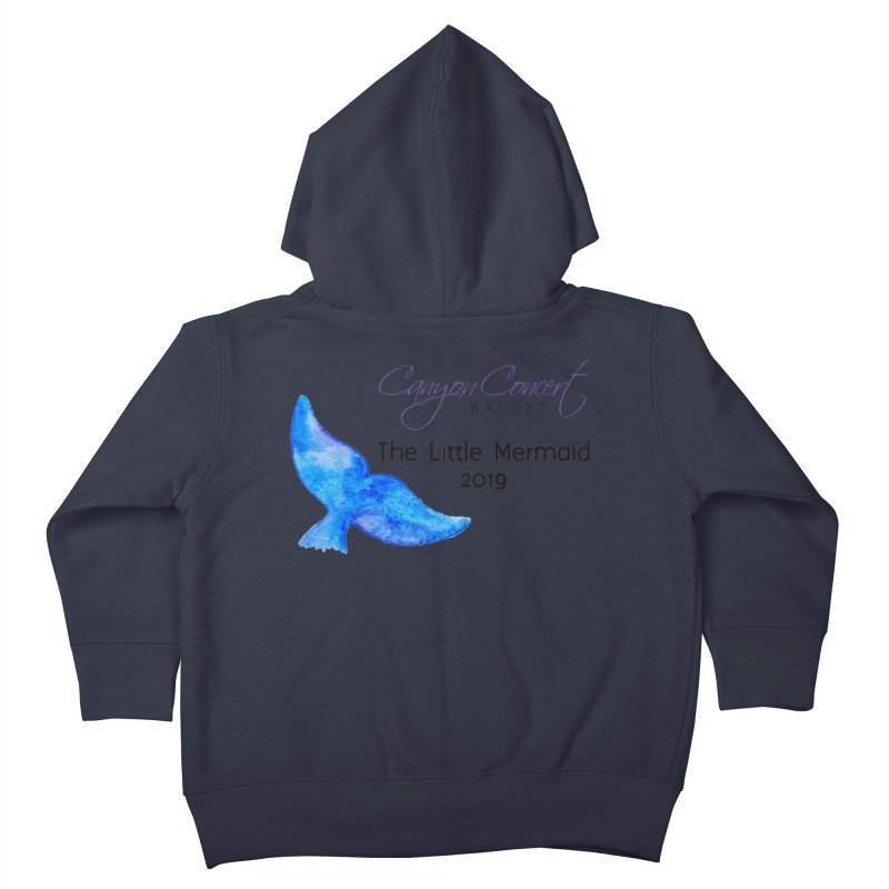 The Little Mermaid Kids Toddler Zip-Up Hoody by Canyon Concert Ballet's Artist Shop