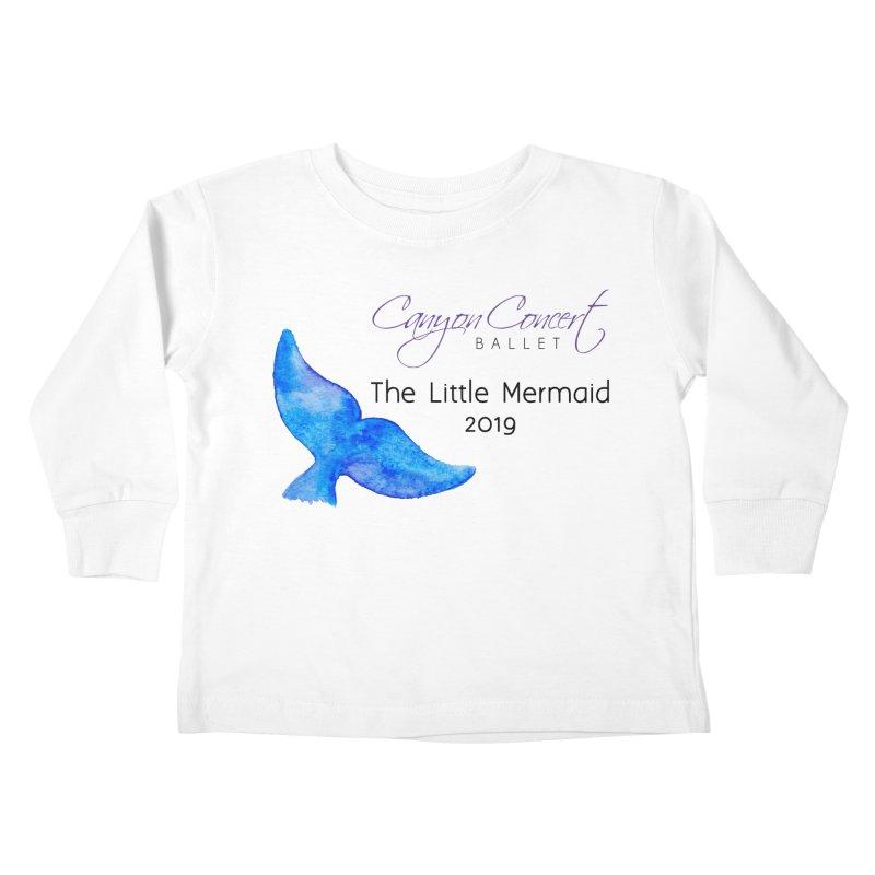 The Little Mermaid Kids Toddler Longsleeve T-Shirt by Canyon Concert Ballet's Artist Shop