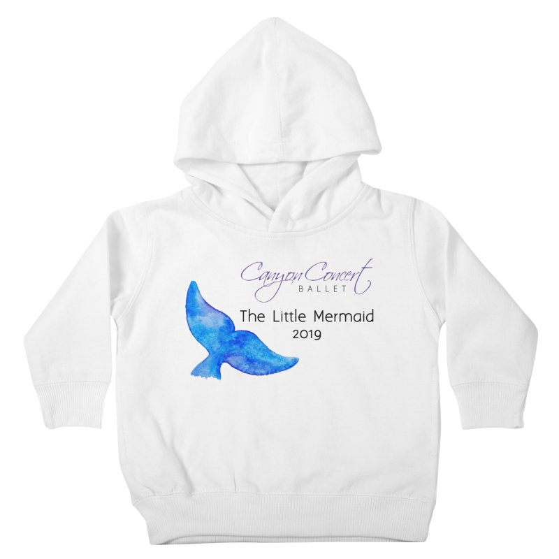 The Little Mermaid Kids Toddler Pullover Hoody by Canyon Concert Ballet's Artist Shop