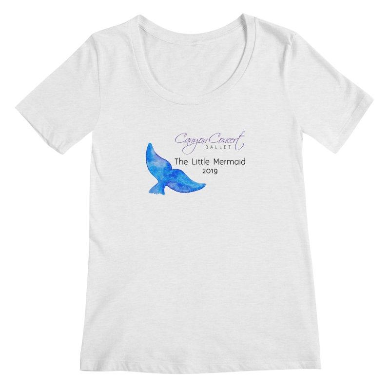 The Little Mermaid Women's Regular Scoop Neck by Canyon Concert Ballet's Artist Shop
