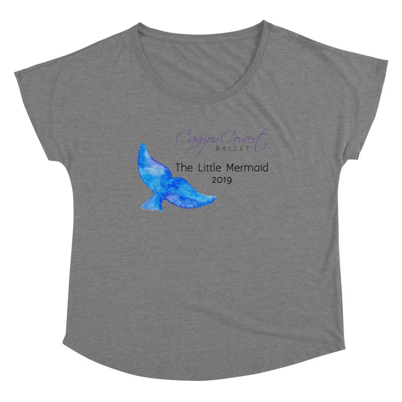 The Little Mermaid Women's Scoop Neck by Canyon Concert Ballet's Artist Shop