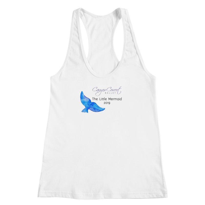 The Little Mermaid Women's Racerback Tank by Canyon Concert Ballet's Artist Shop