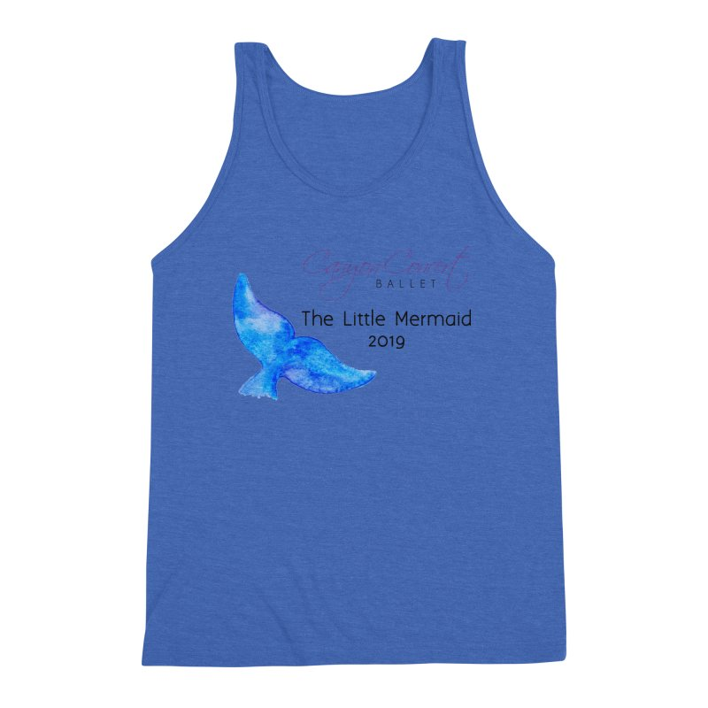The Little Mermaid Men's Triblend Tank by Canyon Concert Ballet's Artist Shop