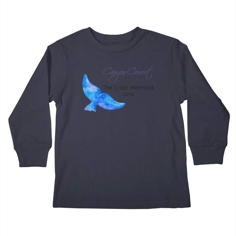 The Little Mermaid Kids Longsleeve T-Shirt by Canyon Concert Ballet's Artist Shop