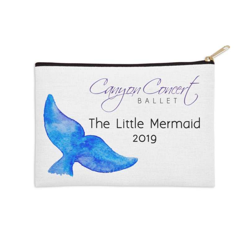 The Little Mermaid Accessories Zip Pouch by Canyon Concert Ballet's Artist Shop
