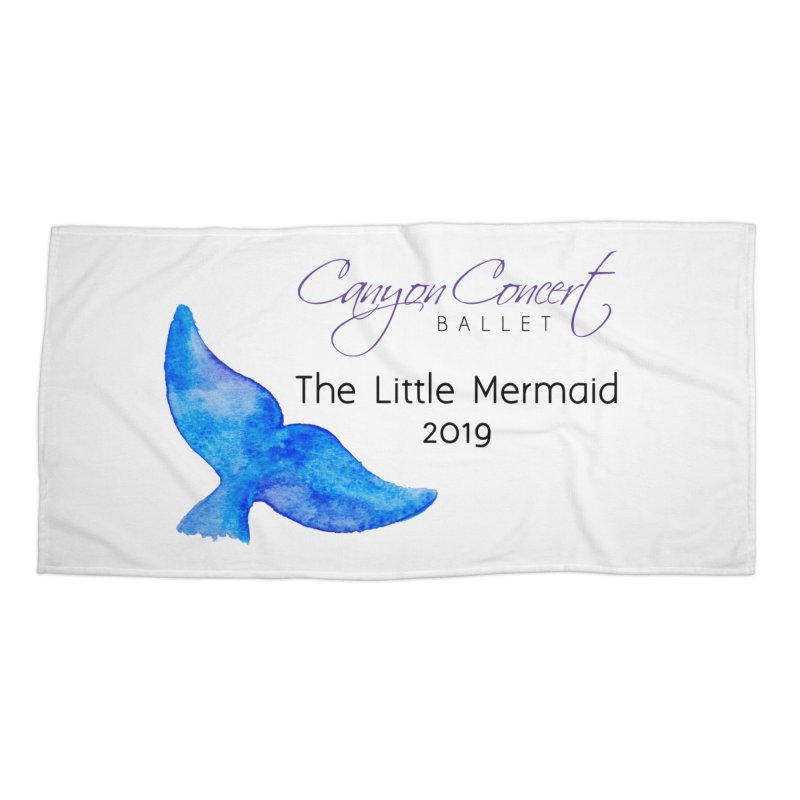 The Little Mermaid Accessories Beach Towel by Canyon Concert Ballet's Artist Shop