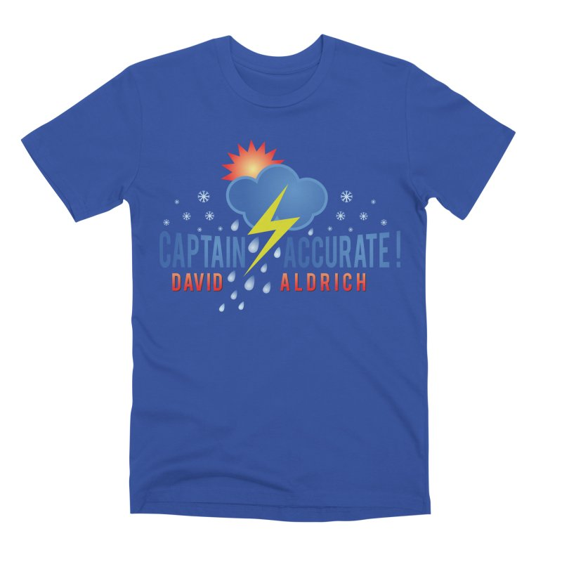 Captain Accurate Men's Premium T-Shirt by Captain Accurate's Artist Shop