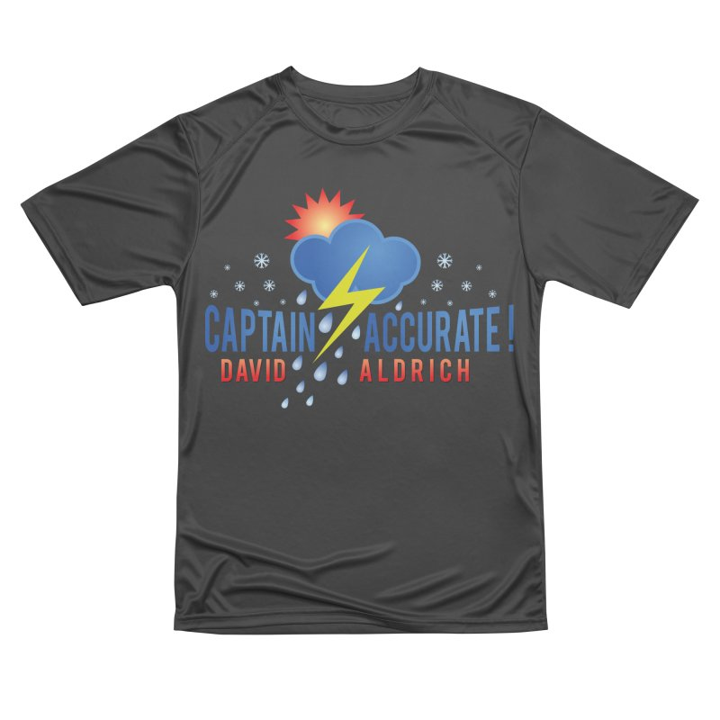 Captain Accurate Women's Performance Unisex T-Shirt by Captain Accurate's Artist Shop