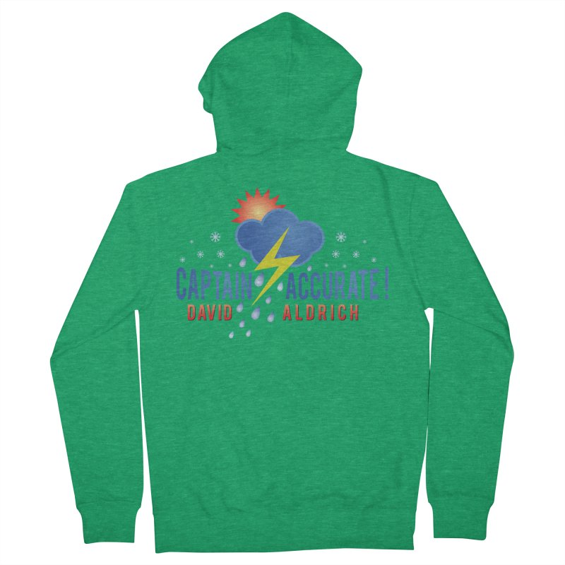 Captain Accurate Women's French Terry Zip-Up Hoody by Captain Accurate's Artist Shop