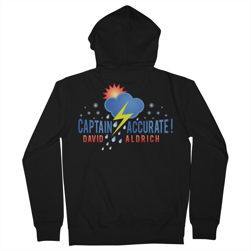 Captain Accurate Men's French Terry Zip-Up Hoody by Captain Accurate's Artist Shop