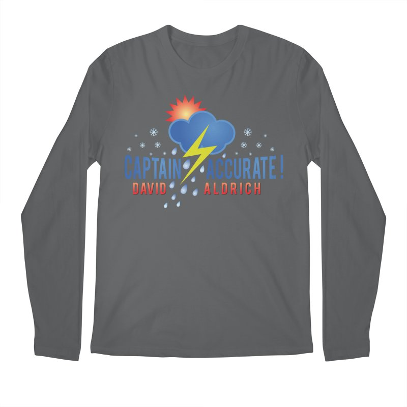Captain Accurate Men's Regular Longsleeve T-Shirt by Captain Accurate's Artist Shop
