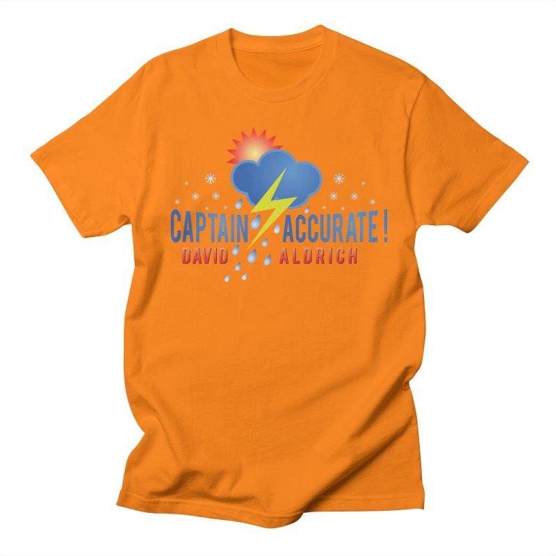 Captain Accurate Women's Regular Unisex T-Shirt by Captain Accurate's Artist Shop