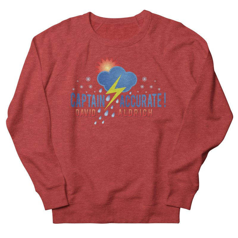 Captain Accurate Men's French Terry Sweatshirt by Captain Accurate's Artist Shop