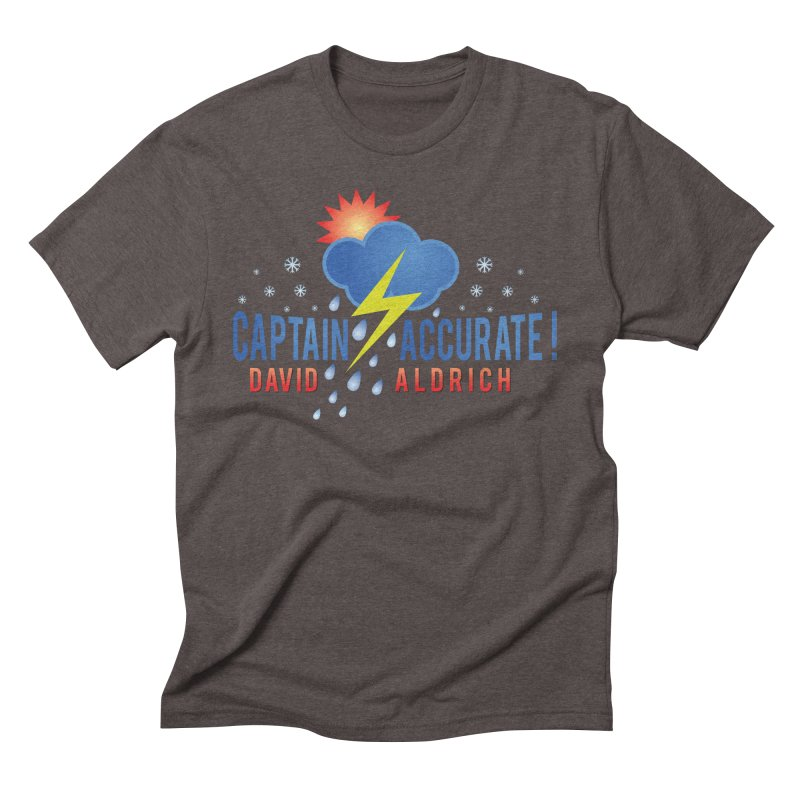 Captain Accurate Men's Triblend T-Shirt by Captain Accurate's Artist Shop