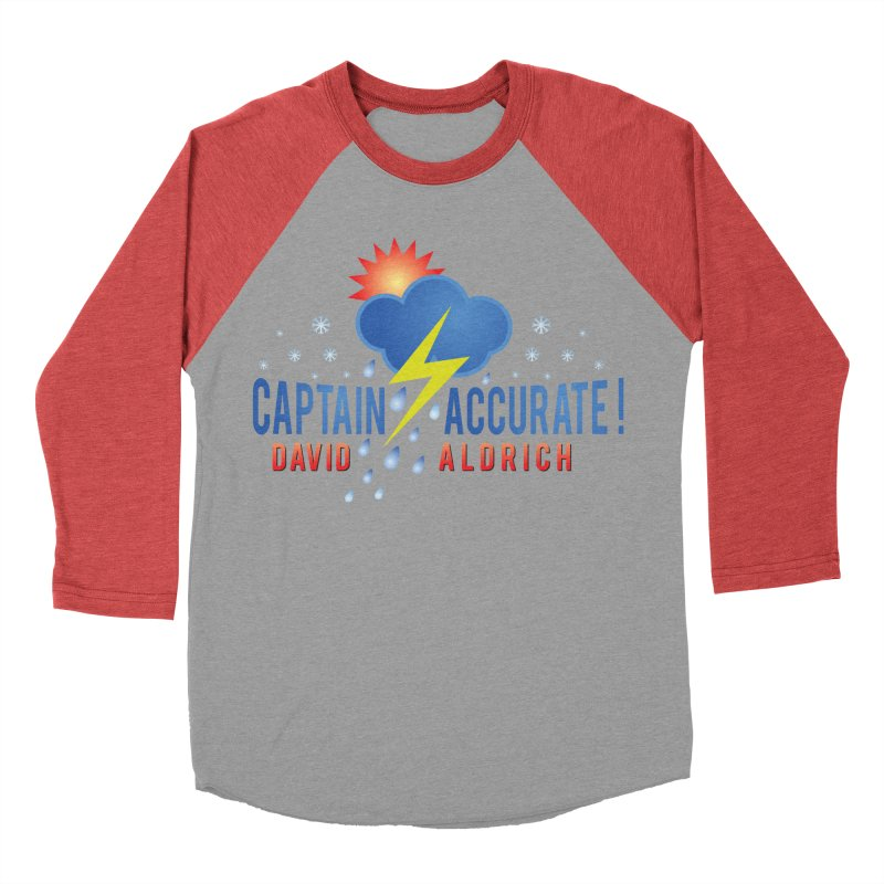 Captain Accurate Women's Baseball Triblend Longsleeve T-Shirt by Captain Accurate's Artist Shop