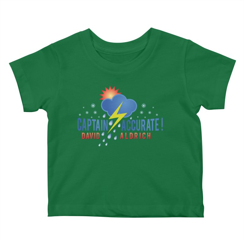 Captain Accurate Kids Baby T-Shirt by Captain Accurate's Artist Shop
