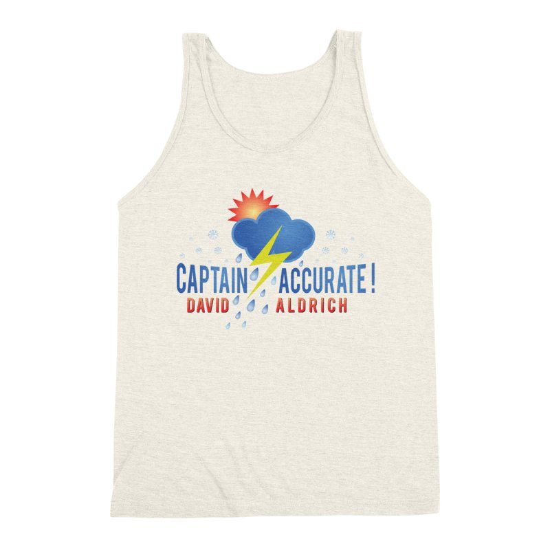 Captain Accurate Men's Triblend Tank by Captain Accurate's Artist Shop