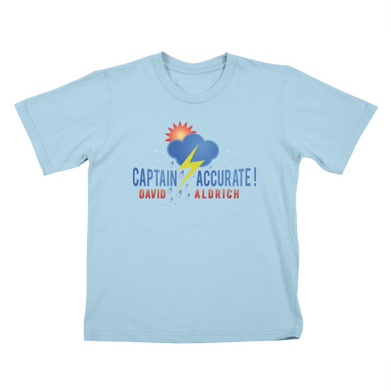 Captain Accurate Kids T-Shirt by Captain Accurate's Artist Shop