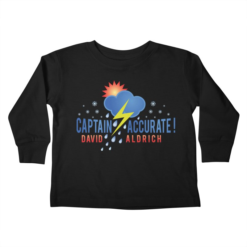 Captain Accurate Kids Toddler Longsleeve T-Shirt by Captain Accurate's Artist Shop