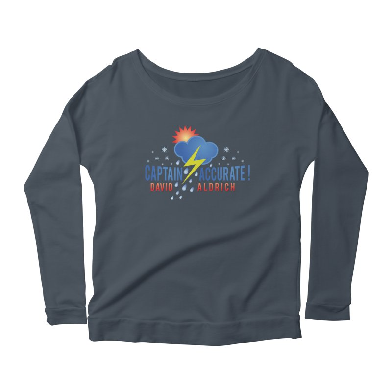 Captain Accurate Women's Scoop Neck Longsleeve T-Shirt by Captain Accurate's Artist Shop