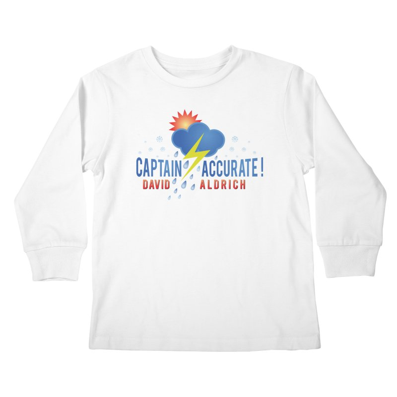 Captain Accurate Kids Longsleeve T-Shirt by Captain Accurate's Artist Shop