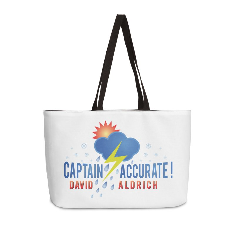 Captain Accurate Accessories Weekender Bag Bag by Captain Accurate's Artist Shop